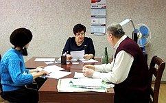 Л. Козлова: ВСафоновском районе Смоленской области взвешенно исистемно подходят крешению проблем граждан