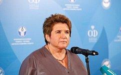 Л. Глебова: Гражданская активность– это основа государственной политики
