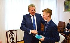 С. Лукин: Молодое поколение– достойная опора нашего государства