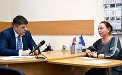 Д.Василенко: Поддержка нафедеральном уровне необходима для решения многих вопросов