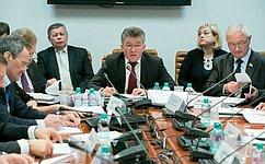 В. Озеров провел заседание «круглого стола», посвященное поисковой работе исодержанию воинских захоронений
