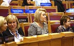 Л.Гумерова: НаАссамблее МПС представлен опыт России повопросам изменения климата
