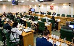 Совет поделам инвалидов при Совете Федерации обсудил вопросы социально-культурной реабилитации инвалидов