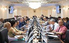 ВСовете Федерации обсудили вопросы законодательного обеспечения инновационных методов увеличения нефтеотдачи