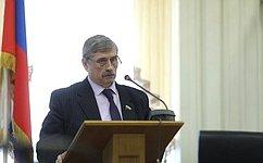 М. Козлов: Поддержка военнослужащих иветеранов Вооруженных сил– один изприоритетов государства