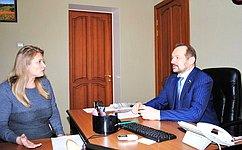 С. Белоусов: Необходимо помочь решить наболевшие проблемы граждан