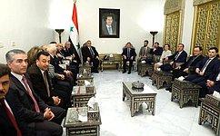 А. Турчак: Визит парламентской делегации— свидетельство неизменной поддержки сирийского народа состороны России