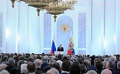 Послание Президента России Федеральному Собранию. Комментарии сенаторов