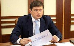 Н. Журавлев принял участие взаседании правительственной комиссии поповышению устойчивости развития российской экономики