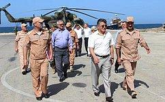 Российские сенаторы посетили авиабазу Хмеймим вСирии