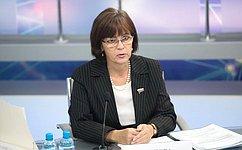 Е.Попова: Забота оматеринстве идетстве– приоритет вработе Волгоградской области