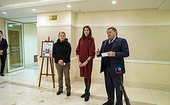 ВСовете Федерации открылась выставка живописи «Лицо Человека»
