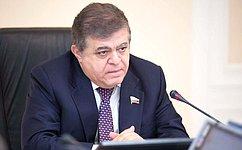 В. Джабаров: Необходимо использовать любую возможность конструктивной работы наплощадке ПА ОБСЕ