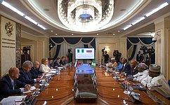 Председатель СФ провела встречу сглавой Сената Нигерии