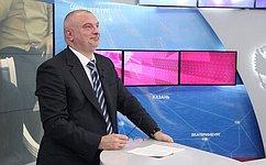 А. Клишас принял участие вКрасноярском экономическом форуме