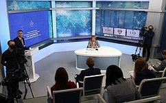 В.Матвиенко: Подавляющее большинство законов, разработанных иодобренных вэтом году, имеет выраженную социальную направленность