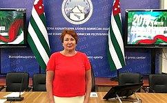 Е. Перминова: Навыборах Президента Абазии незафиксировано нарушений, которые моглибы повлиять нарезультаты голосования