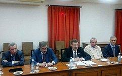 Члены Совета Федерации обсудили вГаване российско-кубинское межпарламентское сотрудничество
