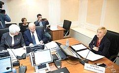 Л.Бокова провела «круглый стол», посвященный реализации закона обобщественных палатах субъектов Федерации