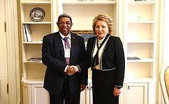 Председатель СФ иПредседатель Национального собрания Мадагаскара обсудили перспективы межпарламентского взаимодействия