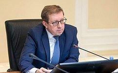 А.Майоров: Исполнение решений, принятых поитогам мероприятий Комитета СФ, находится напостоянном контроле
