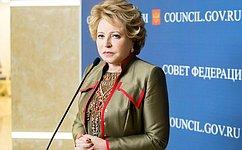 В. Матвиенко: Решение Украины овведении моратория навыплаты внешних долгов подрывает доверие международного сообщества ккиевской власти