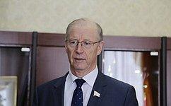 Главная задача парламента Мордовии– совершенствование законодательства винтересах жителей региона— Н.Петрушкин