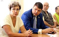 Д. Василенко посетил межрайонную организацию Всероссийского общества слепых