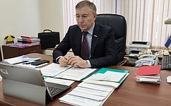 Молодые законодатели продолжают активную работу над актуальными вопросами регионов— А.Варфоломеев