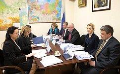 А.Клишас иЭ.Памфилова обсудили вопросы совершенствования избирательного законодательства
