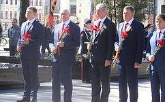 Н. Тихомиров: Вологжане будут вечно хранить память освоих земляках, сражавшихся нафронтах Великой Отечественной войны
