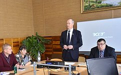 Н.Петрушкин выступил сотчетом перед избирателями Атяшевского района Республики Мордовия