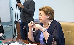 З. Драгункина провела рабочую встречу сИ. Калиной