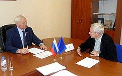 Н. Тихомиров провел прием граждан вВологодской области