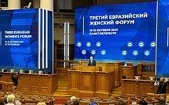 Евразийский женский форум— драйвер развития глобальной женской повестки