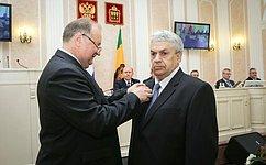 В. Кондрашин принял участие вочередной сессии Законодательного Собрания Пензенской области ипамятных мероприятиях врегионе