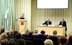 И. Гехт обсудила счелябинцами вопросы качества продуктов илекарств