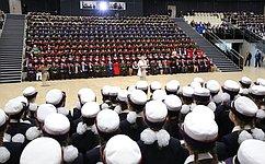 В.Матвиенко: Воспитанницы Пансиона Минобороны России продолжат славные традиции российского женского образования