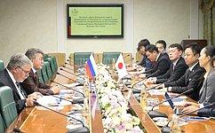 В.Озеров: Встречи российских парламентариев спредставителями Японии стали более интенсивными