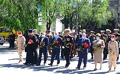 В. Куликов: Нынешнее поколение моряков достойно продолжает славные традиции Черноморского флота