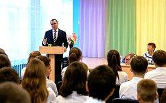 Н. Федоров: Главная цель школы– дать возможность детям осуществить свои мечты