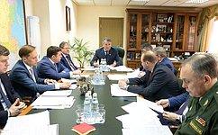 Ю.Воробьев: Сенаторы готовы поддержать инициативу повысить социальные гарантии испытателям космической техники