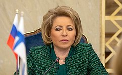 Председатели Совета Федерации иПарламента Финляндии обменялись посланиями