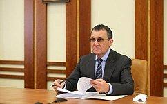 Н. Федоров принял участие взаседании Правительственной комиссии порегиональному развитию вРоссийской Федерации