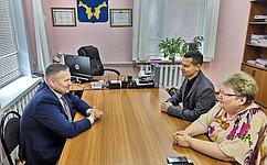 Д. Гусев посетил село Тельвиска Заполярного района Ненецкого АО