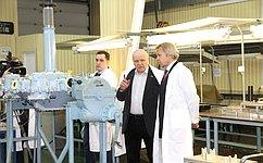 А.Пушков обсудил перспективы развития вертолетостроения напредприятии вПерми