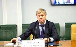 А. Русских провел «круглый стол» оразвитии молодежного предпринимательства вРФ