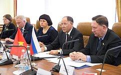 В.Абрамов: Российско-вьетнамское межпарламентское взаимодействие поступательно развивается