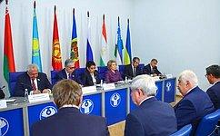 В. Матвиенко подвела итоги осенней сессии Межпарламентской Ассамблеи государств— участников СНГ