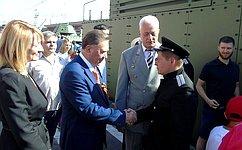 А. Михайлов принял участие вмероприятиях, посвященных 77-й годовщине победы вКурской битве